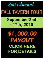 2nd Annual Fall Tavern Tour - Click here to enlarge!
