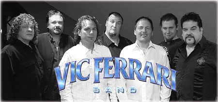 VIC FERRARI SEVEN PIECE SHOW BAND