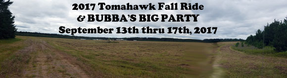 Tomahawk Fall Ride - Great fun for a good cause!